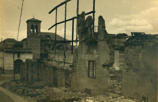 Entorno del Convento de la Concepción Francisca de Toledo destruido en la Guerra Civil. Fotografía de Pelayo Mas Castañeda. Causa de los mártires de la persecución religiosa en Toledo