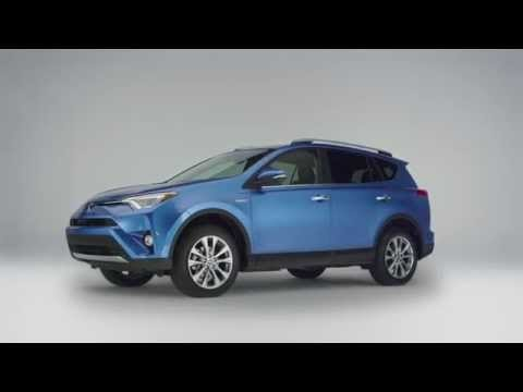 Toyota Unveil 2016 Rav4 Hybrid Video Electric Vehicle News