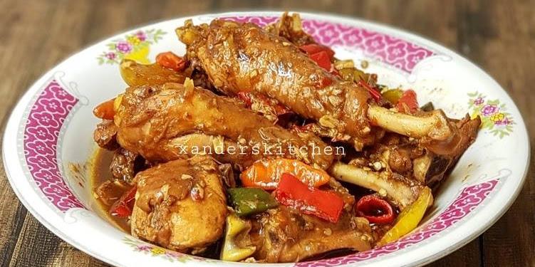 Resep Ayam Kecap Sunda...harus Recook Oleh Xander's Kitchen