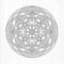 Dibujos Para Colorear Mandala Corazones Y Flechas Eshellokidscom