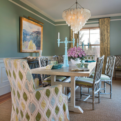 dining room jade green interior design home photo inspiration
