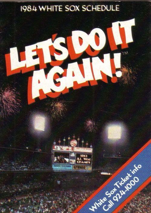 White Sox Program<br />1984