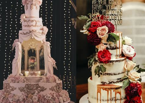 14 Extravagant Wedding Cake Designs For 2018 Weddings
