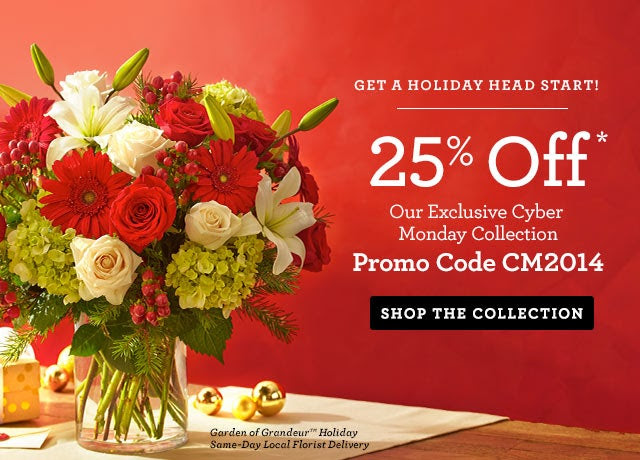 Cyber Monday Sale  Save 25%* Sitewide  Promo Code CM2014  Ends Tonight!  SHOP NOW