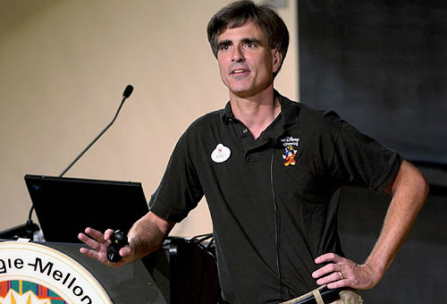 Randy Pausch speaking
