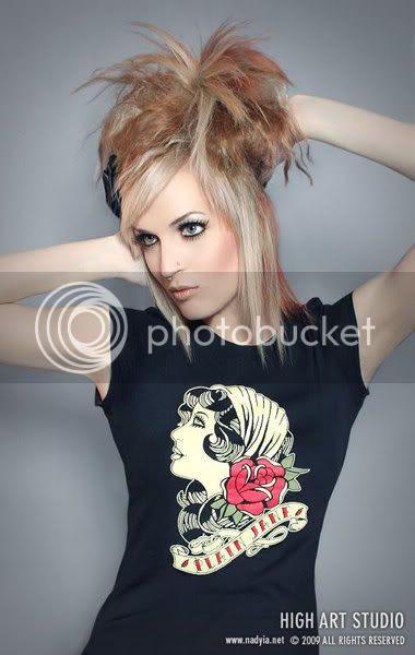 old school tattoo gypsy plain jane tshirt