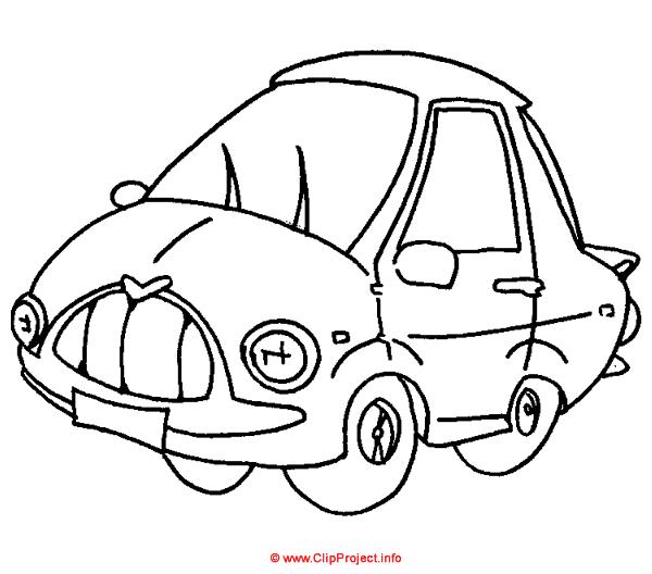 malvorlagen autos gratis