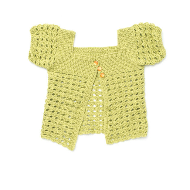 Patons Girl's Playground Cardigan, 4 yrs