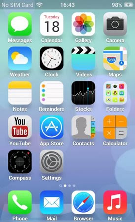 iOS7 Theme-1