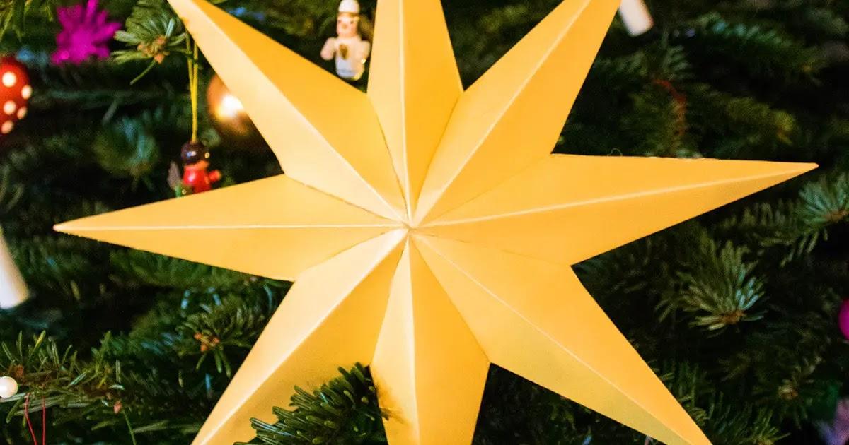stern bild stern mit 7 zacken basteln