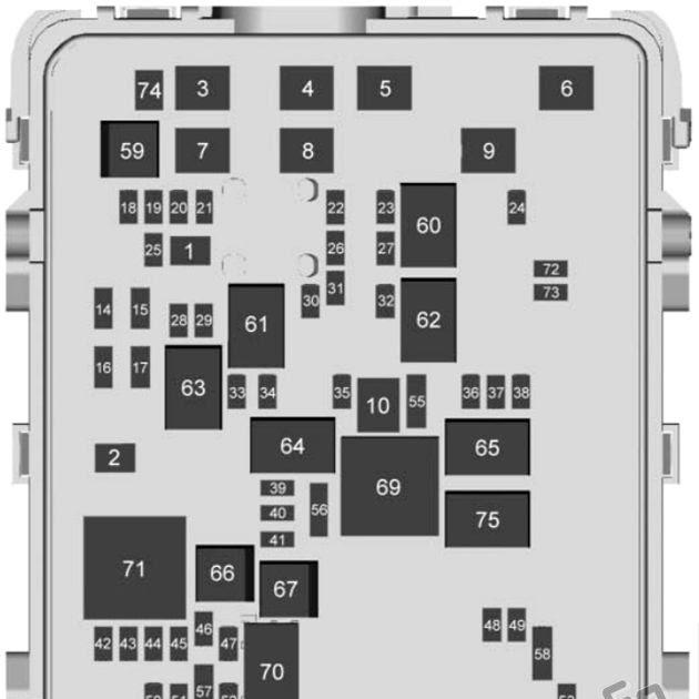28 2017 Silverado Fuse Box Diagram