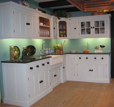 There and back with kitchen cabinets