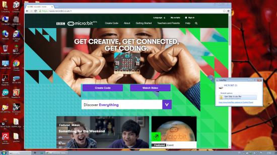 micro:bit website