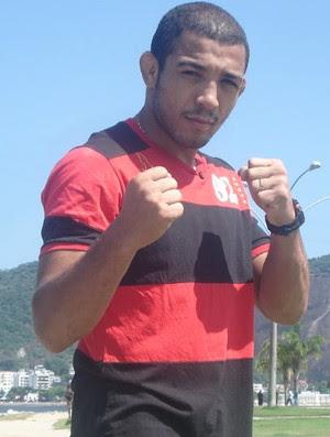 José Aldo Jr no Aterro do Flamengo (Foto: Adriano Albuquerque/SporTV.com)
