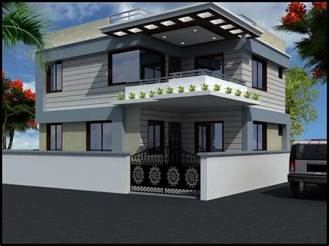 feels  modern house design small duplex home plans