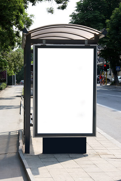 Shelters billboard picture blank template material Download Free ...