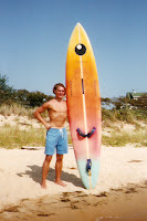 1992 at Jockey's Ridge with my old Dufour Bic.  My first shortboard?!