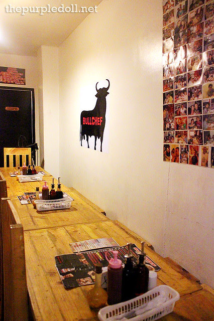 BULLCHEF Kapitolyo Dining Area at Second Floor