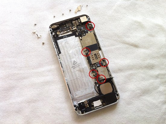 iPhone 5 disassembly stage 31