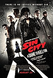 Sin City: A Dame To Kill For (3D) Poster