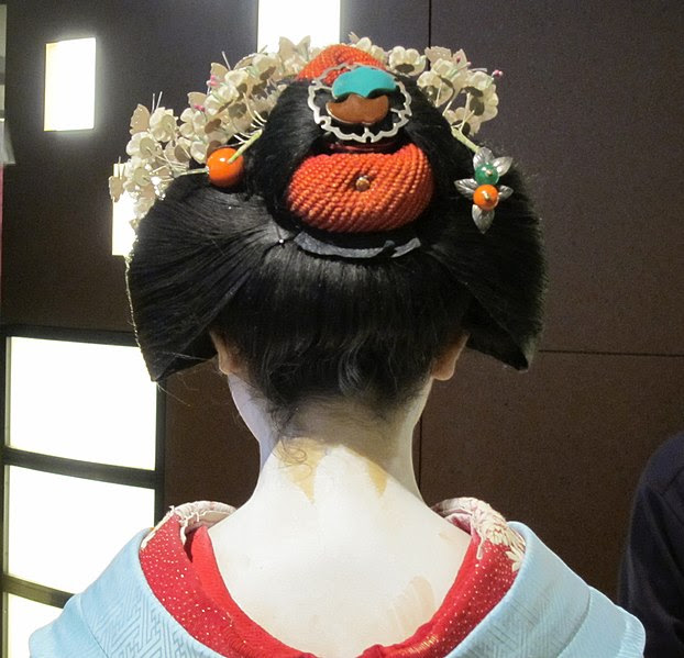 Wareshinobu hairstyle (source: Wikimedia)