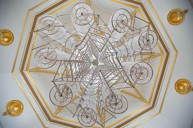 Ai Weiwei, Bicycle Chandelier,