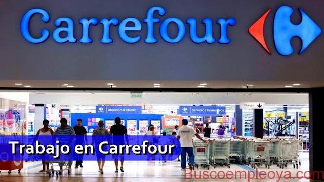 Carrefour solicita personal para comenzar a trabajar de inmediato
