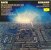 Herbert von Karajan conducts the Berlin Philharmonic (DG LP box set cover)