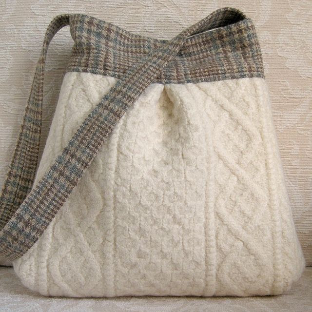 Nice bag ..... have not checked details but could easily be an op shop find with sweater and mens trou or suiting!
