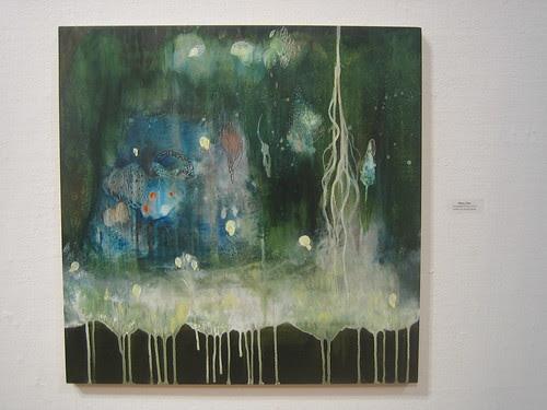Enchanted Forrest by Sherry Chen, Green - Berkeley Art Center Member Show 2010 _ 9390