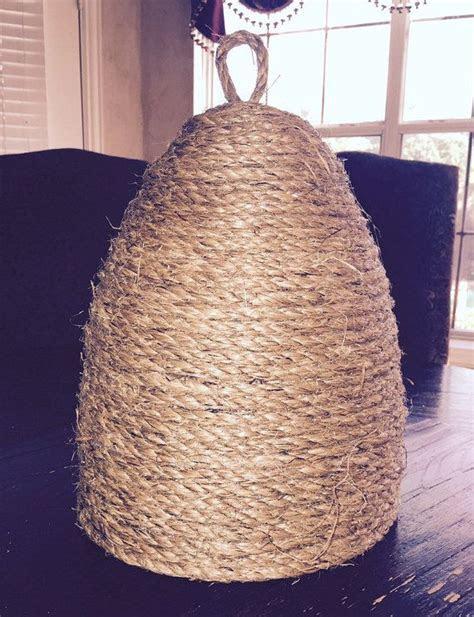 Handmade Ornamental Bee Skep Apiary, Beehive Decor, Home