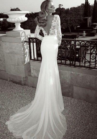 60 Perfect Low Back Wedding Dresses   Til Death Do Us Part