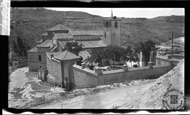 Iglesia de San Lucas en 1933. Fotografía de Gonzalo de Reparaz Ruiz. © Institut Cartogràfic de Catalunya