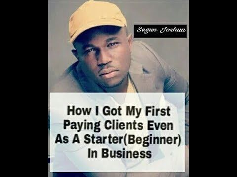 How To Get And Keep Your First Paying Customer Coming Back (Customer Retention 100%) - Featuring: Segun Joshua