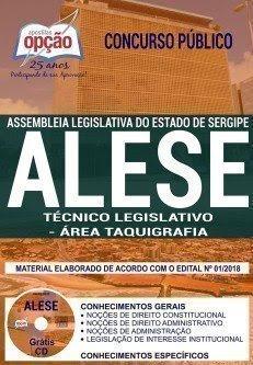 apostila ALE-SE TÉCNICO LEGISLATIVO - ÁREA TAQUIGRAFIA