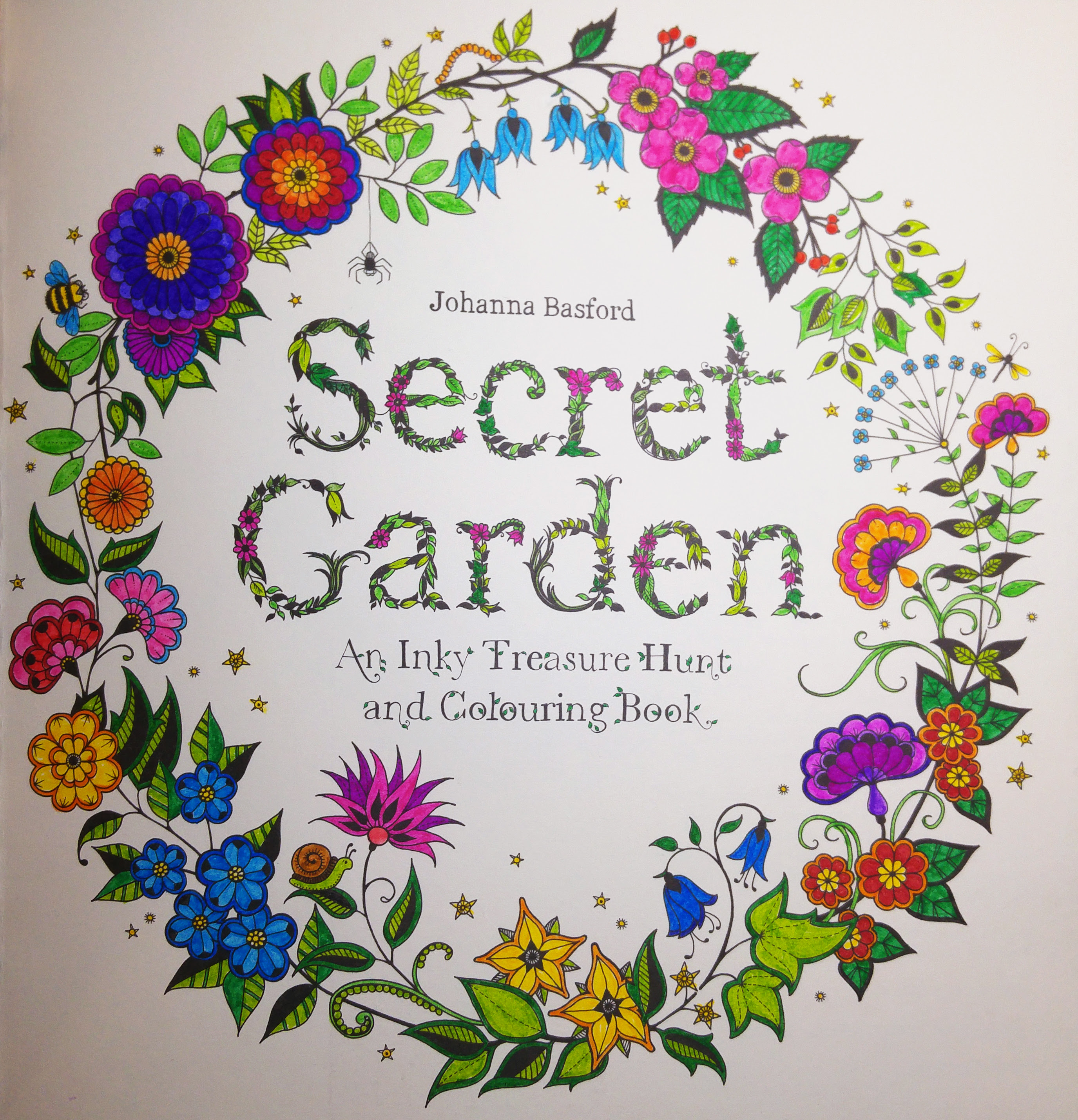 56+ Secret Garden Coloring Book First Page Picture HD