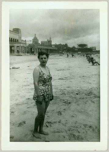 Woman at Atlantic City Beach