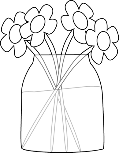 Flower Black And White Clipart Panda Free Clipart Images