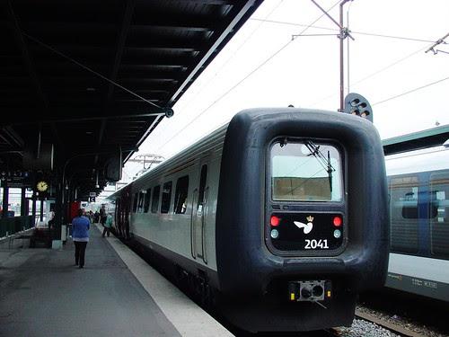 抵達歐登塞(Odense)與童話大師呼吸著相同的空氣
