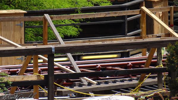 Disneyland Resort, Disneyland, Big Thunder Mountain Railroad, Refurb, Refurbishment