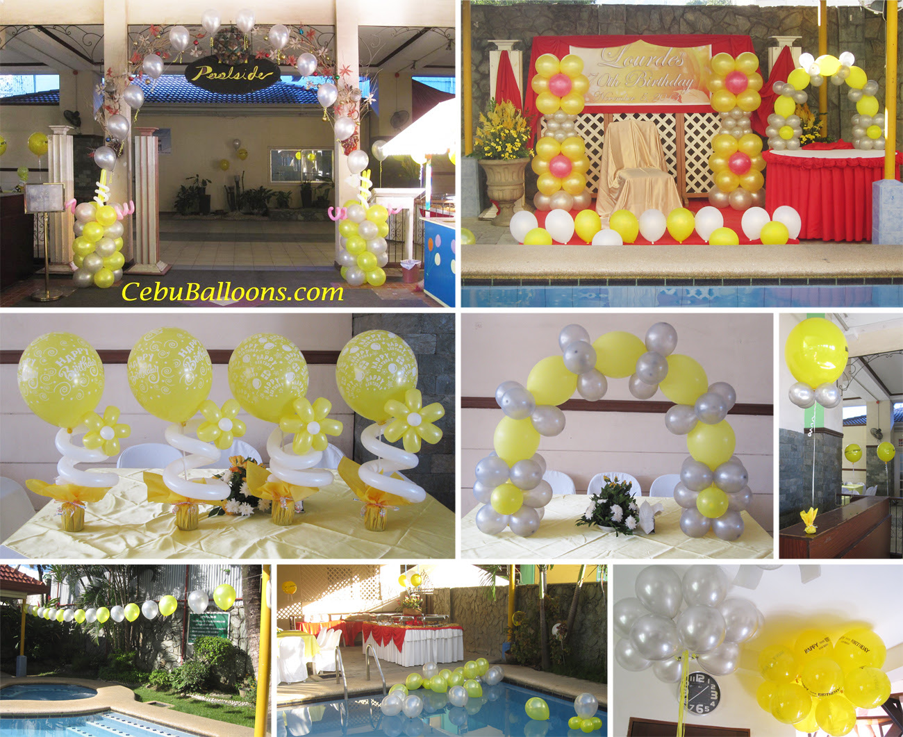 Ideas For 70th Birthday Party Decorations Elitflat