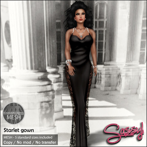 Starlet gown for BlackOnly Event