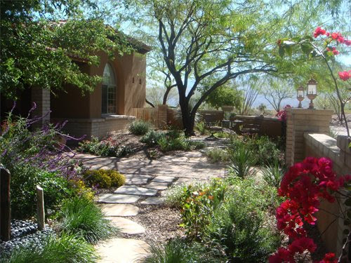 Front Yard Desert Landscaping Ideas