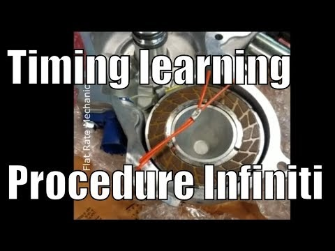 Flat Rate Mechanic: Exhaust valve timing control learning