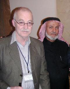 Dr Sheik Hareth Al-Dari (AMSI) and myself.