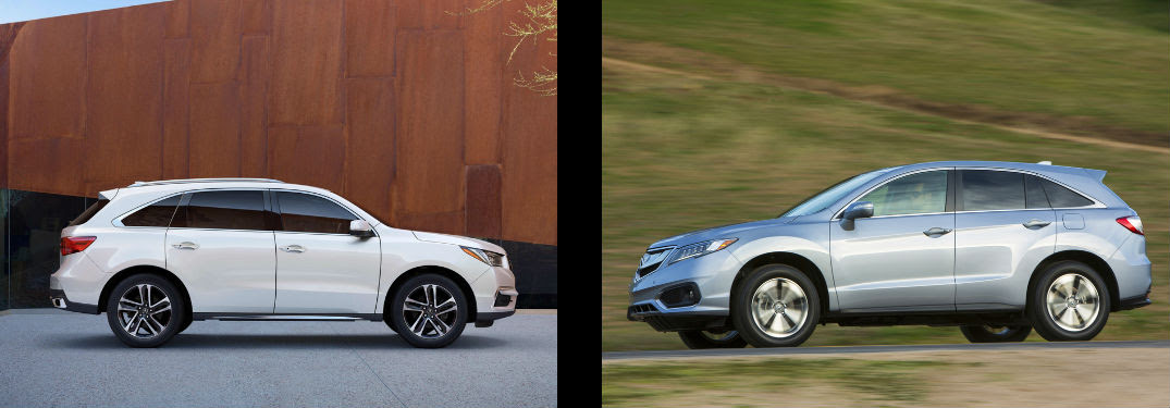 Acura Rdx Dimensions >> Acura Rdx Vs Mdx Upcoming New Car Release 2020