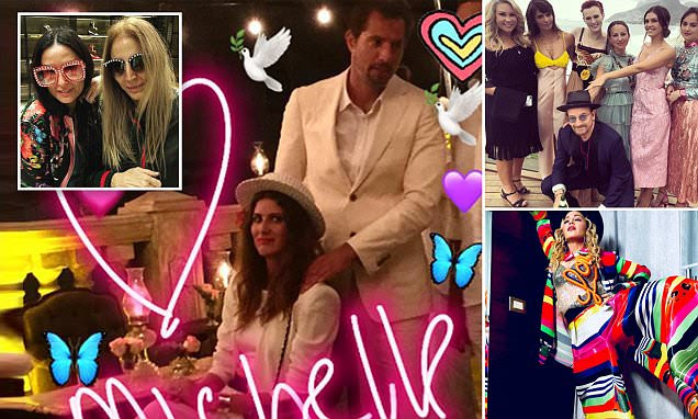 Guy Oseary and wife renew vows for A-list crowd in Brazil