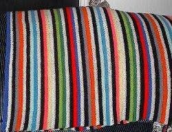 Bev's Old Rainbow Blanket