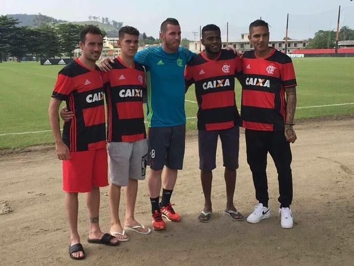 Foto nova camisa Flamengo (Foto: Reprodução)