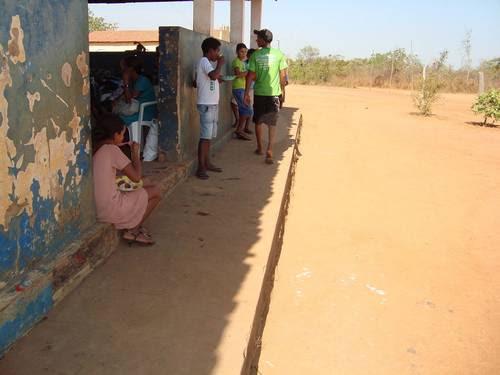 Alunos na cidade de Balsas (MA) sem terem onde comer suas merendas, segundo  relatório da CGU Divulgação/CGU